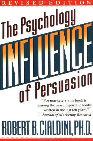 Robert Cialdini's Influence front cover