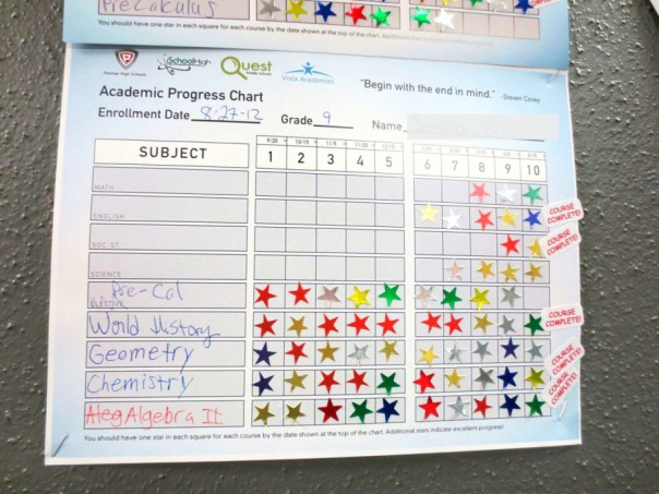 ResponsiveEd progress chart