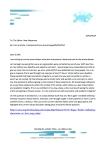 Greg Hibbins letter 1