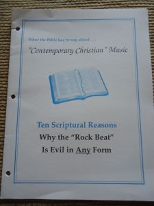 What the Bible has to say about Contemporary Christian Music